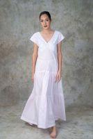 NEW! Light Pink Cotton Dress- EM 3P